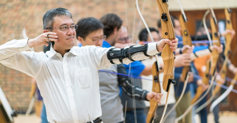 Corporate Archery and team Building Events